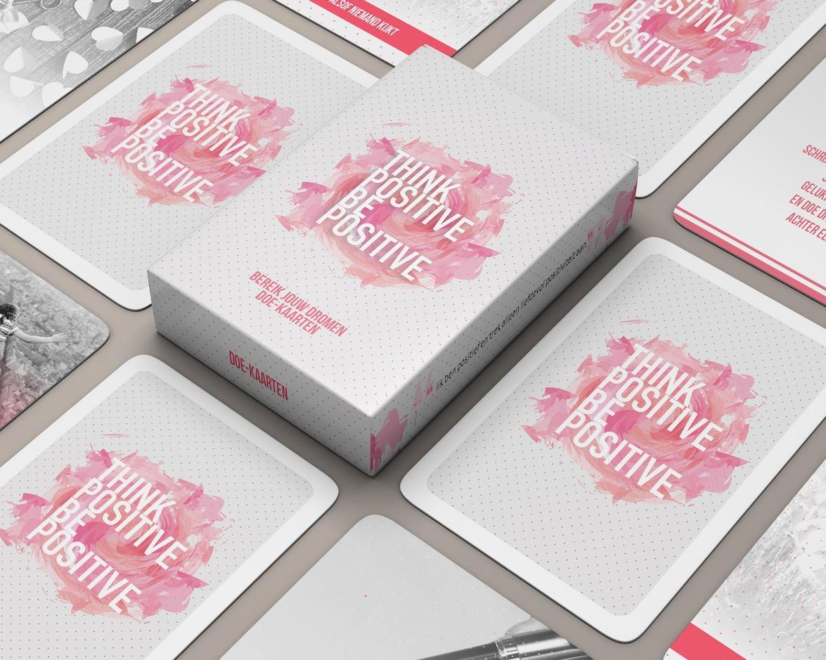 think-positive kaarten